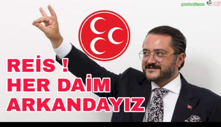 "MHP'li YILMAZ:""Sayın Genel Başkanımızın Her Daim Emrindeyiz!.."""