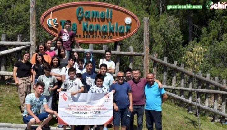 Okul Destek Projesi Kapsamında Fethiye-Çameli Gezisi Düzenlendi