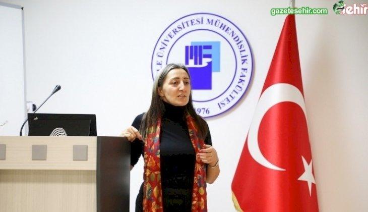 PAÜ'lü Tekstil Mühendisleri Uluslararası Firmanın Türkiye Temsilcisiyle Buluştu