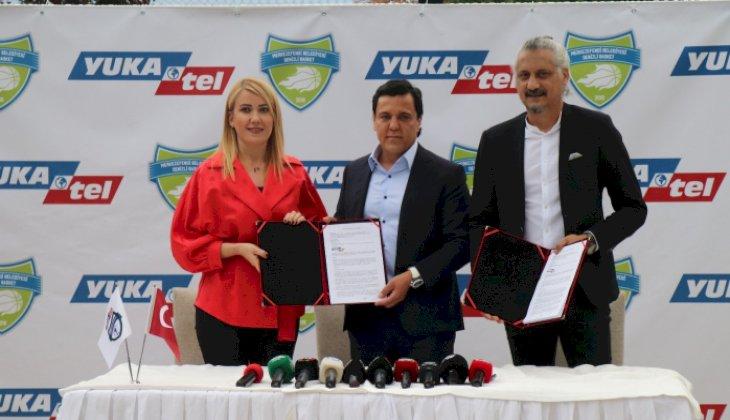 Merkezefendi Belediyesi Denizli Basket Kulübüne 'Yukatel' isim sponsoru oldu