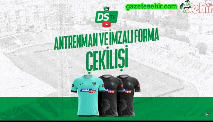 DENİZLİSPOR'DAN FORMA HEDİYESİ