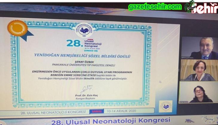 PAÜ Hastanesi Sözel Bildiri Ödülü Kazandı