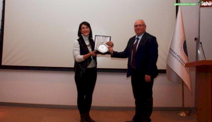 Prof. Dr. Özer SPK'da İlk Borsa Binası Bulunan Aizanoi Antik Kentini Anlattı