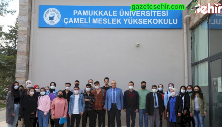 Başkan Arslan Çameli MYO Öğrencileri ile buluştu