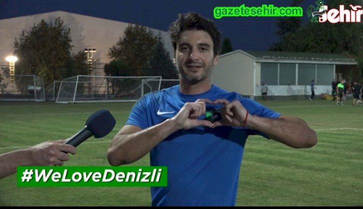 """Denizlispor da #WeLoveDenizli akımına katıldı  """"Haydi Denizli şehrine oy ver!"""""""