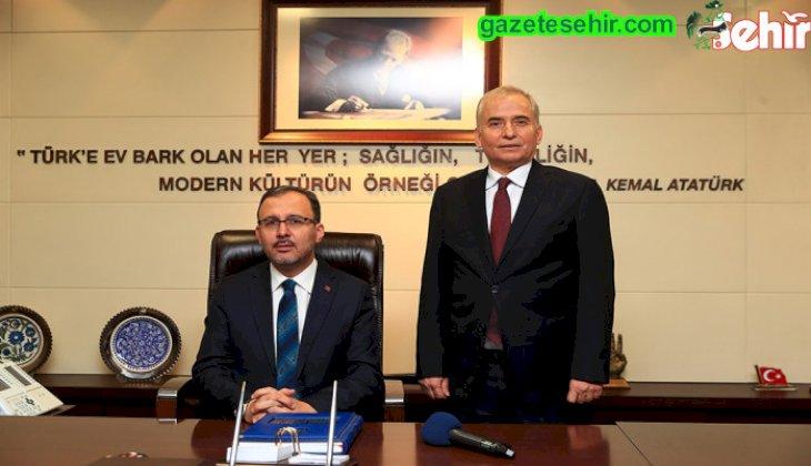 Bakan Kasapoğlu'ndan Başkan Zolan'a ziyaret