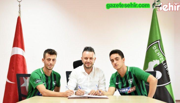 Yukatel Denizlispor, altyapıdan 2 oyuncuyla daha profesyonel sözleşme imzaladı.
