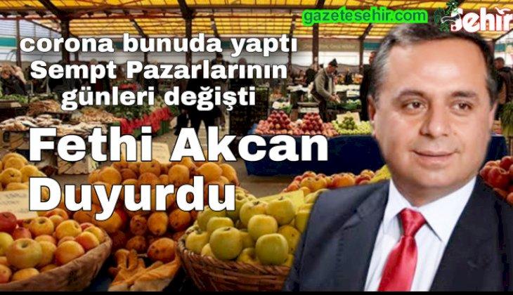 Çal Belediye Başkanı Fethi Akcan duyurdu.