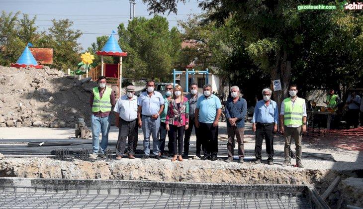 AŞAĞIŞAMLI MAHALLESİ'NE SOSYAL TESİS