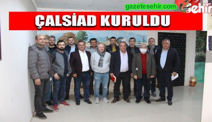 """Çallı iş insanları """"Her şey Türkiye ve Çal için"""" sloganıyla harekete geçti"""