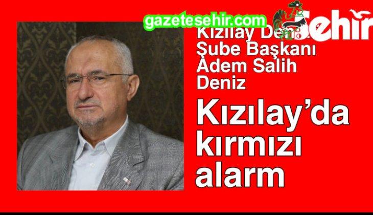 Kızılay'da kırmızı alarm