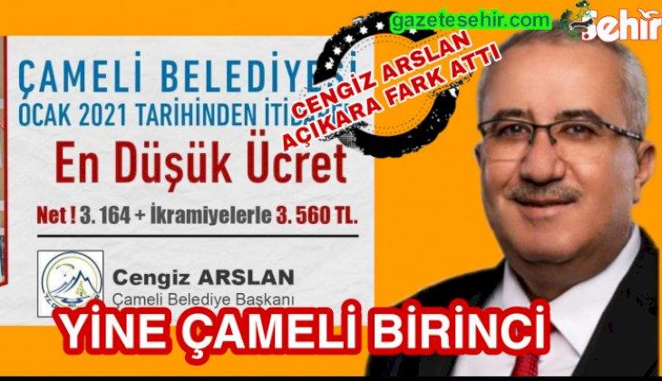 ALKIŞLAR ÇAMELİ'YE