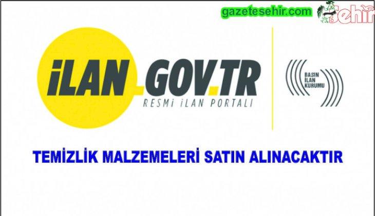 TEMİZLİK MALZEMELERİ SATIN ALINACAKTIR