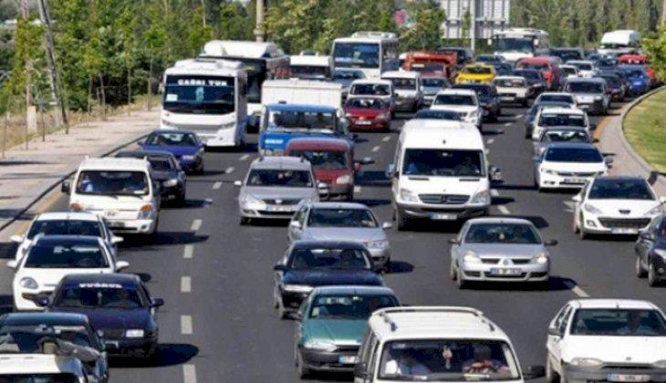 Denizli'de araç sayısı 441 bini aştı