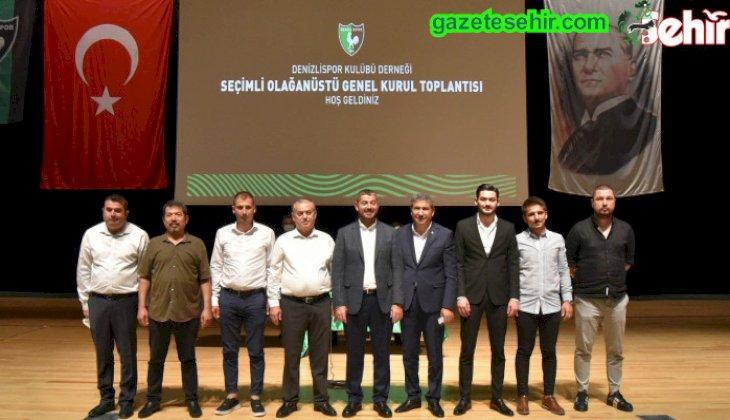 Denizlispor Kulübü, bugün gerçekleştirdiği Olağanüstü Genel Kurul Toplantısı'nda başkanlığa Mehmet Uz'u seçti.