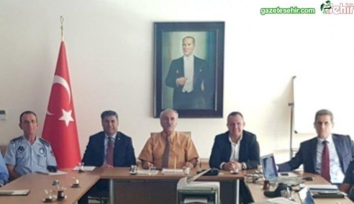 YUKATEL DENİZLİSPOR-FENERBAHÇE MAÇI ÖNCESİ İL GÜVENLİK KURULU TOPLANDI