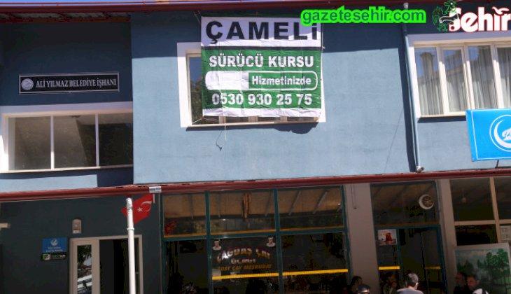 Çameli'de  ilk defa sürücü kursu açıldı