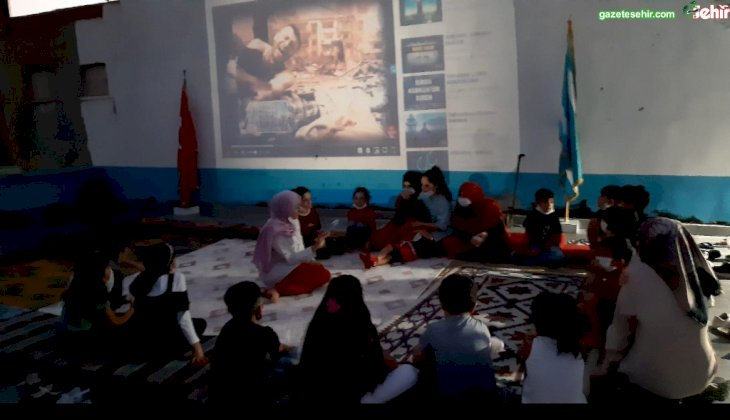 Türkmen Balaları bu kez de Kurtuluş'u izledi