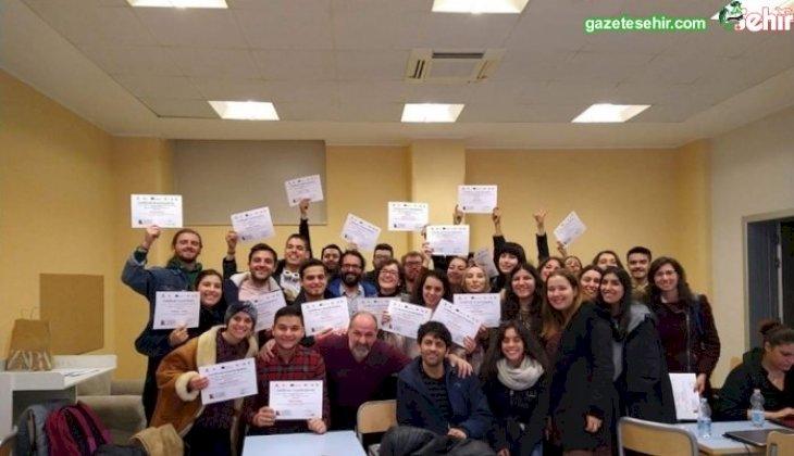 PAÜ'lü Öğrenciler Silvher Projesi ile İtalya'da