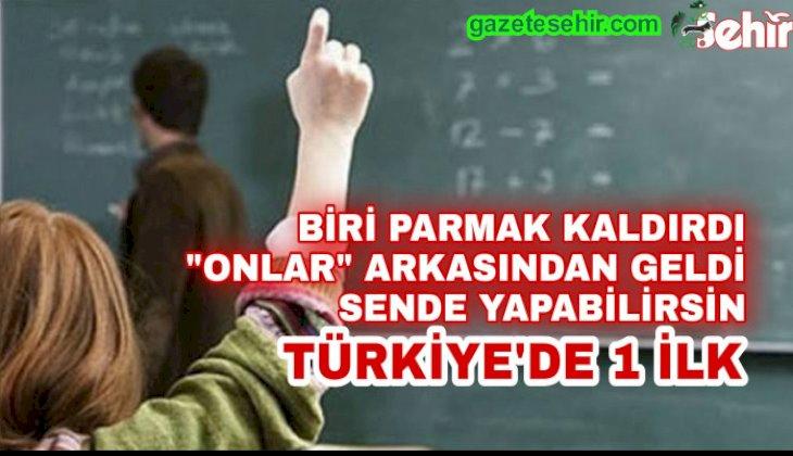 """TÜRKİYE'DE """"İLK"""" KOLAK İMZA ATTI"""