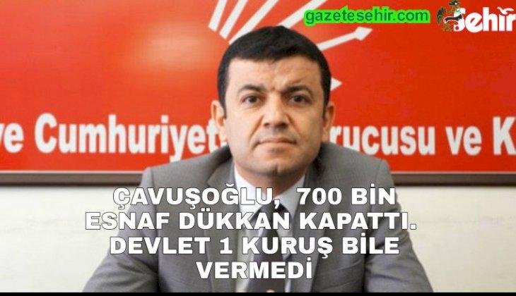700 BİN ESNAF DÜKKAN KAPATTI