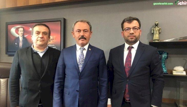 AK PARTİ PAMUKKALE TEŞKİLATI'NDAN ANKARA ÇIKARMASI