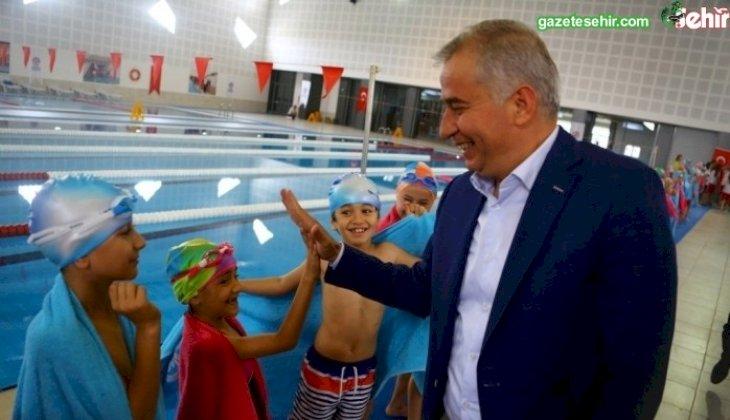 Kış Spor Okulları kayıtları başlıyor  Büyükşehir ile 12 ay boyunca kesintisiz spor
