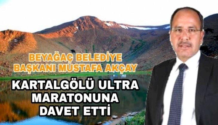 """CUMARTESİ GÜNÜ HERKES BEYAĞAC'A """"KARTALGÖLÜ ULTRA MARATONUNA"""""""