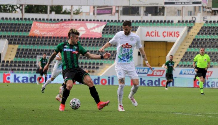 Süper Lig: Y. Denizlispor: 0 - Çaykur Rizespor: 1 (Maç sonucu)