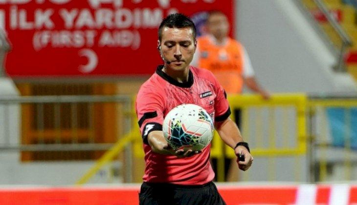 Denizlispor - Antalyaspor maçının hakemi Küçük oldu