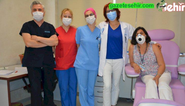 PAÜ'de ozon tedavisi başladı