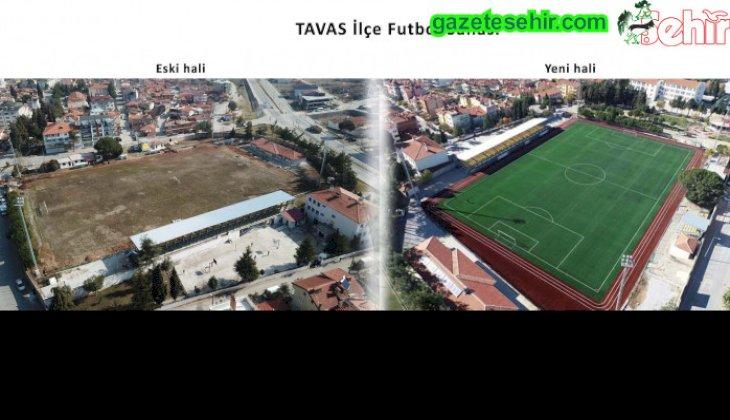 TAVAS'A YAKIŞIR FUTBOL SAHASI