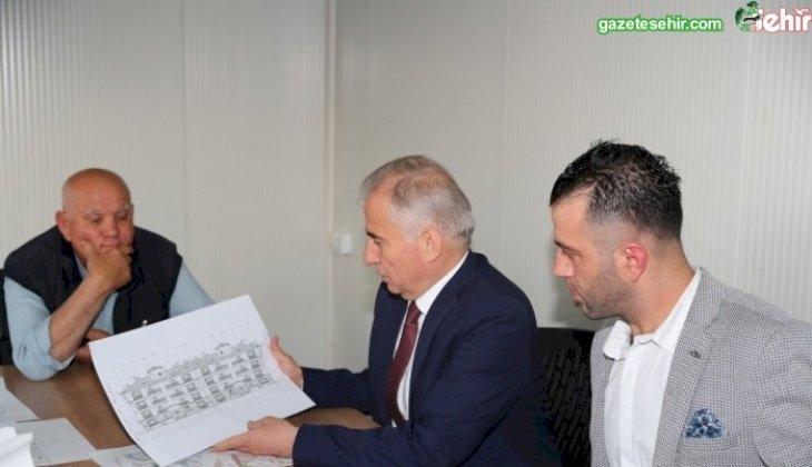 Başkan Osman Zolan Bozkurt'ta TOKİ konutlarını inceledi