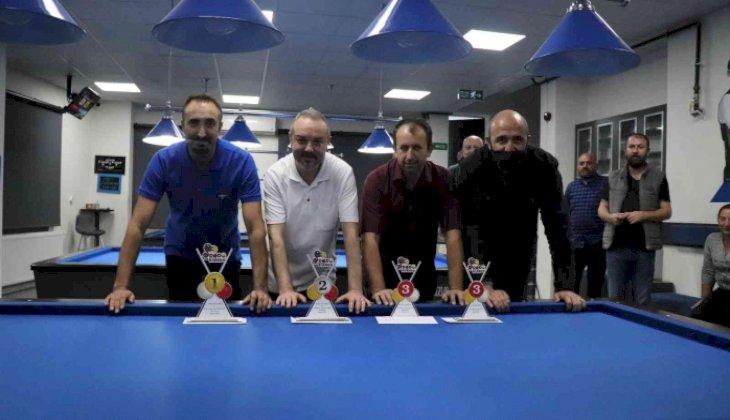Bilardonun şampiyonları Denizli'de buluştu