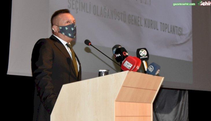 Denizlispor'da Olağan Seçimli Genel Kurulu Yapıldı